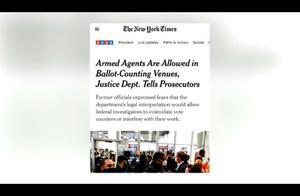 派武装人员到计票点、媒体掐断特朗普讲话直播……跌宕起伏第三夜
