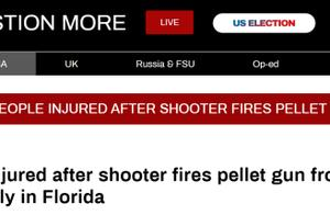 外媒:支持特朗普集会活动发生枪击案,2人受伤