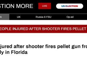 有人朝支持特朗普的人群开枪