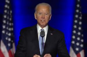 """刚刚,拜登以""""当选总统""""身份讲话,他对特朗普支持者说:让我们给彼此一个机会"""