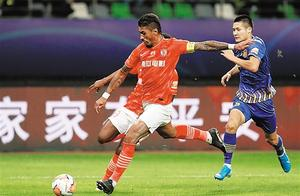 射门9比0!中超决赛首回合:广州恒大0比0江苏苏宁