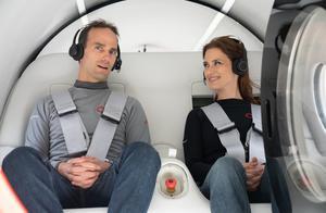 Virgin Hyperloop实现重大里程碑:完成首次载人测试