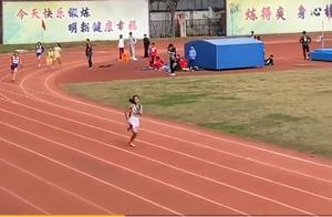 厉害了!初中女生跑出国家一级运动员水平,网友:保送国家队吧