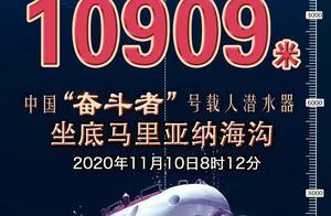 """深度10909米,""""奋斗者""""号来了"""