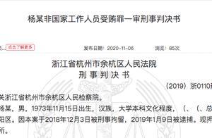 受贿855万、包养情人,原优酷总裁杨伟东一审被判刑七年