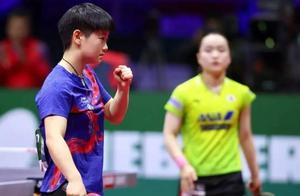 孙颖莎4-2击败日本选手伊藤美诚,闯入女乒世界杯决赛