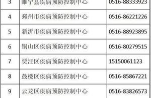 徐州疾控发布紧急提示!有天津市、上海市中风险地区旅居史的人员需集中隔离医学观察14天