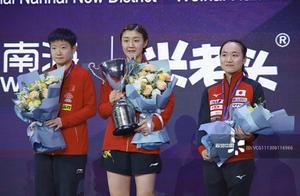 国际乒联女子世界杯:陈梦4-1逆转孙颖莎,首次夺得单打世界冠军