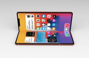 苹果首款折叠屏手机曝光 最快2022年发布搭载iPadOS