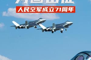 羽翼已丰,为国出征|人民空军71岁生日快乐