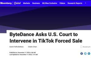 TikTok再诉美国政府,挑战CFIUS总统令