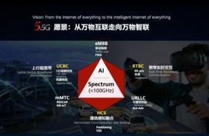 华为定义5.5G!构建美好智能世界:带宽可提升10倍