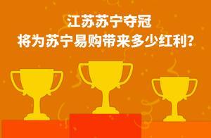 江苏苏宁夺冠 将为苏宁易购带来多少红利?