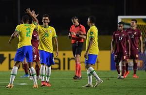 世预赛:两次进球被吹菲尔米诺建功,巴西1-0委内瑞拉