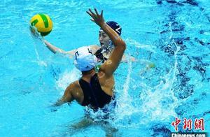 2020年全国U17女子水球锦标赛精彩连连 上演精彩对决