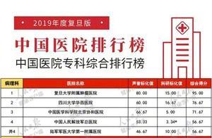 复旦版中国医院排行榜公布