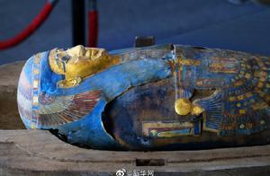 埃及出土百具距今约2500年的彩绘木棺