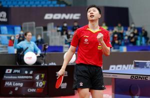 乒乓球——男子世界杯:马龙晋级决赛