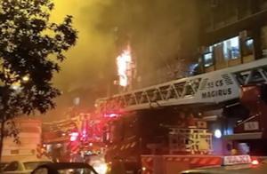 香港油麻地火灾已致7死11伤,林郑月娥指示全力救治伤者