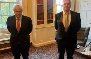 英国首相约翰逊回应再隔离:接触确诊议员时遵循了新冠防控指南