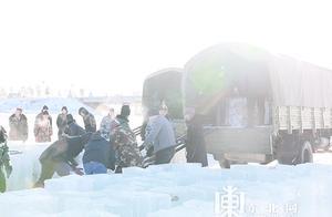 中国北极丨漠河,采冰啦