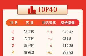 2020年10月四川县级综合传播力指数发布