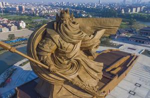 湖北荆州回应违规建关公雕像:正在制定搬移方案