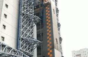 长征五号遥五运载火箭垂直转运至发射区,11月下旬择机发射