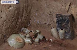 考古新发现!西安出土珍贵耀州窑青釉瓷器