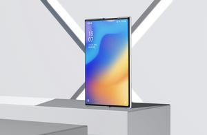 快看丨OPPO发布卷轴屏概念手机,屏幕大小可滑动调节