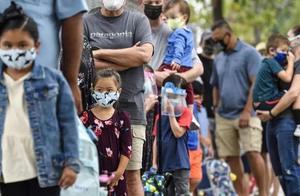 美国超100万儿童感染新冠肺炎 过去一周儿童感染达11万例
