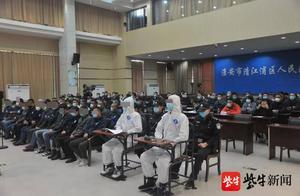 """淮安一驾校教练,用无人机""""指挥""""200余名学员科目二考试作弊"""