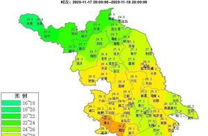 今天淮安最高气温26.6℃,接下来……