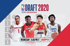 2020年NBA选秀大会汇总(实时更新)