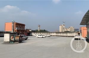 重庆驾校在7楼楼顶练车引争议 相关部门:场地没有备案,已约谈驾校负责人