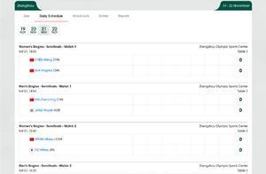 国际乒联总决赛半决赛赛程