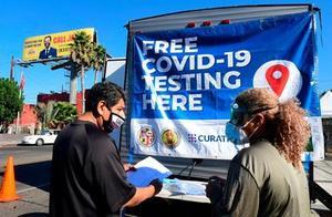 美国洛杉矶或最早于11月22日发布疫情封锁令
