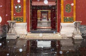 北京初雪!你们等的故宫照片来了