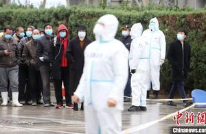 """天津滨海新区启动全员核酸检测 首日""""滨城大筛""""采样逾百万人"""
