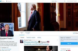 推特发言人:明年1月20日会把美总统官方账号移交拜登