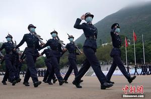 香港警察学院举行结业典礼