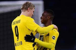 哈兰德:希望未来能和穆科科一起出场 他的职业生涯会非常出色