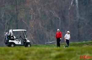 """各国政要G20讨论疫情,特朗普""""显示存在""""后又去打高尔夫了"""