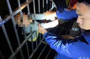 合肥一男孩深夜从13楼掉落到12楼防盗窗,楼下邻居、消防合力救援