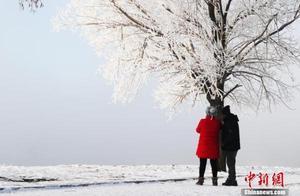 吉林市现今冬首场雾凇