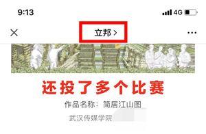 武汉一学生被指盗用作品参赛,立邦所办设计大赛疑撤下该作品