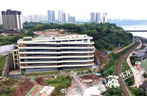 底楼是古镇顶楼是公园 重庆这个15层楼的停车场走红网络