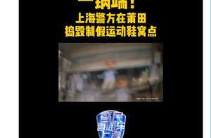 成本50卖价上千!上海侦破1.2亿元造假球鞋案