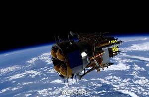 加油!嫦娥五号组合体成功分离 嫦娥五号将择机月面软着陆