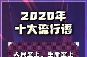 2020年十大流行语